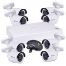 Swann SWDVK-16158W 16-Channel 500GB DVR Compact Security System