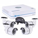 Swann SWNVK-470854 4-Channel 720p 1TB DVR Professional Security System