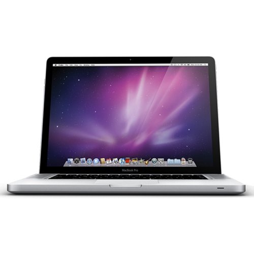 The newer MacBook Pro models come standard with an LED backlight system providing lower power consumption and an extended battery life. All MacBook Pros are refurbished, tested, and ship with macOS pre-installed.