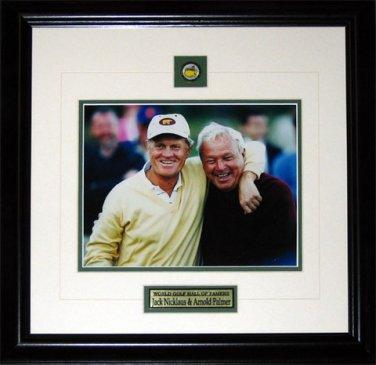 Jack Nicklaus & Arnold Palmer 8x10 frame