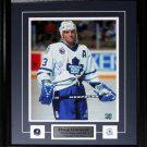 Doug Gilmour Signed Bloody 11x14 Frame