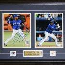Jose Reyes Toronto Blue Jays signed 2 photo frame