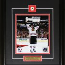 Jonathan Toews Chicago Blackhawks 2013 Stanley Cup 8x10 frame