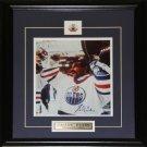 Grant Fuhr Edmonton Oilers Signed 8x10 frame