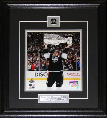 Dustin Brown Los Angeles Kings Stanley Cup 8x10 Frame