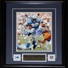 Barry Sanders Detroit Lions signed 8x10 frame