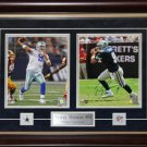 Tony Romo Dallas Cowboys Signed 2 Photo Frame