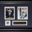 Tony Romo Dallas Cowboys 2 Card Frame