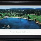 Pebble Beach Golf Links PGA Panorama Frame