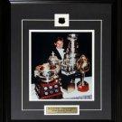 Wayne Gretzky Stanley Cups & Trophies 8x10 frame
