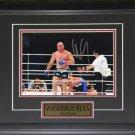 Wanderlei Silva UFC signed 8x10 frame