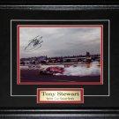 Tony Stewart Nascar signed 8x10 frame