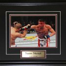 Sam Stout UFC signed 8x10 frame
