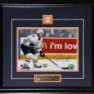Ryan Smyth Edmonton Oilers Signed 8x10 frame