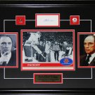 Pierre Elliot Trudeau 1972 Summit Series Signed Frame