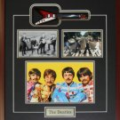 The Beatles Miniature Guitar 3 photo frame