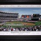 New York Yankee Stadium Inaugural Game panorama Frame