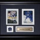 Nazem Kadri Toronto Maple Leafs 2 card frame