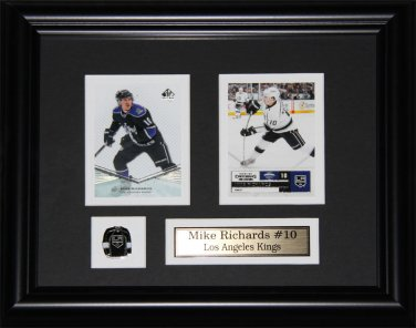 Mike Richards Los Angeles Kings 2 card frame