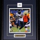 Marshawn Lynch Seattle Seahawks Superbowl XLVIII 8x10 frame