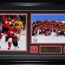 Jonathan Toews 2014 Team Canada Sochi Gold Medal 2 photo frame
