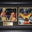 Hulk Hogan WWE Wrestling signed 2 photo frame