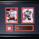 Henrik Lundqvist New York Rangers 2 card frame
