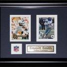 Emmitt Smith Dallas Cowboys 2 card frame