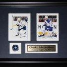Clarke MacArthur Toronto Maple Leafs 2 card frame