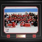 2014 Team Canada Womens Hockey Gold Medal Sochi 16x20 frame