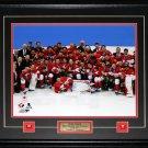 2014 Team Canada Mens Hockey Gold Medal Sochi 16x20 frame