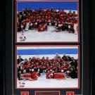 2014 Team Canada Men & Women Gold Medal Sochi 11x14 2 photo frame