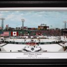 2010 Winter Classic Fenway Park Boston Bruins Philadelphia Flyers Panorama frame