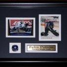 Felix Potvin Toronto Maple Leafs 2 card frame