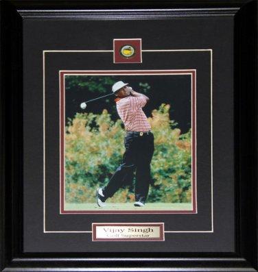 Vijay Singh Golf 8x10 frame