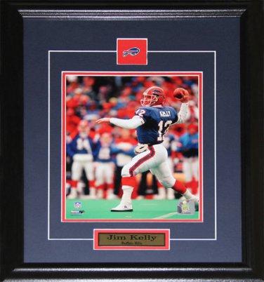 Jim Kelly Buffalo Bills 8x10 frame
