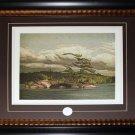 Island Mooselake - 1968 Canada Art frame