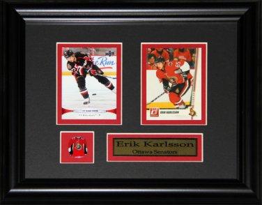 Erik Karlsson Ottawa Senators 2 Card Frame