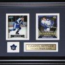 Darryl Sittler Toronto Maple Leafs 2 Card Frame