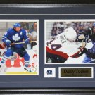 Darcy Tucker Toronto Maple Leafs Signed 2 Photo Frame