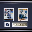 Curtis Joseph Toronto Maple Leafs 2 Card frame