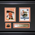 Bernie Parent Philadelphia Flyers 2 Card frame