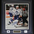 Wendel Clark Toronto Maple Leafs Signed 16x20 Frame