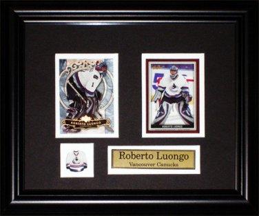 Roberto Luongo Vancouver Canucks 2 Card Frame