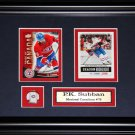 PK Subban Montreal Canadiens 2 Card Frame