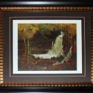 Woodland Waterfall - 1916-1917 Canada Art frame