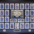Toronto Parkies Card Set signed by Bower Kelly Baun Ullman frame