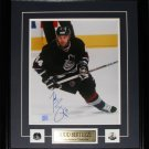 Todd Bertuzzi Vancouver Canucks signed 11x14 frame