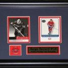 Serge Savard Montreal Canadiens 2 card frame
