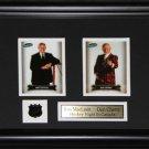 Ron MacLean & Don Cherry 2 Card Frame